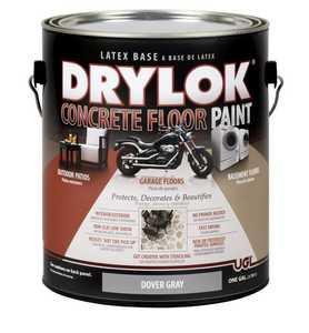 United Gilsonite Laboratories 21413 Drylok Concrete Floor Paint Dover Gray Gallon