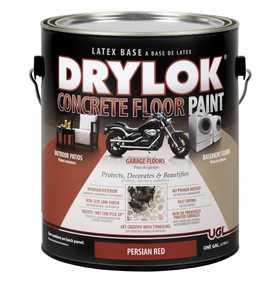 United Gilsonite Laboratories 21513 Drylok Concrete Floor Paint Persian Red Gallon