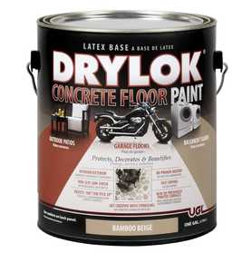 United Gilsonite Laboratories 21613 Drylok Concrete Floor Paint Bamboo Beige Gallon