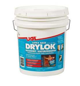 United Gilsonite Laboratories 27515 Masonry Waterproofer Latex White 5 Gal