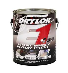 United Gilsonite Laboratories 28013 1-Part Epoxy Floor Paint Arctic White Gallon