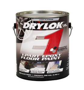 United Gilsonite Laboratories 28113 1-Part Epoxy Floor Paint Light Platinum Gallon