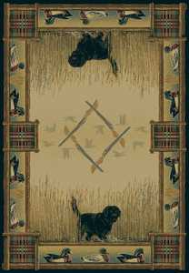 United Weavers 530 43417 Area Rug 7 ft 10x10 ft 6 Duck Hunt