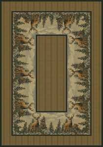 United Weavers 532 41017 Area Rug 5 ft 3x7 ft 6 Standing Proud