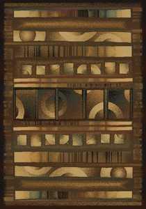 United Weavers 520 31054 Area Rug 5 ft 3x7 ft 6 Illusions Walnut