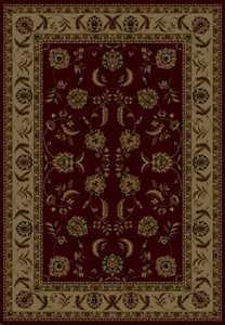 United Weavers 160 12934 Rug 5 ft 3 x 7 ft 6 Annabel Burgundy