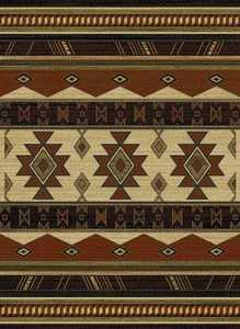United Weavers 550 31058 Rug 5 ft 3 x 7 ft 2 Southwest Wind Auburn