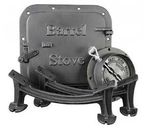United States Stove Co BSK1000 Barrel Stove Kit