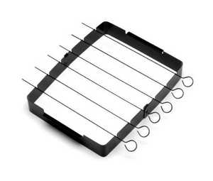 The Companion Group CC3032 Nonstick Kabob Rack With Skewers