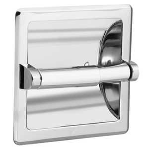 CSI/Moen 2575 Paper Holder Recessed Chrome Contemporary