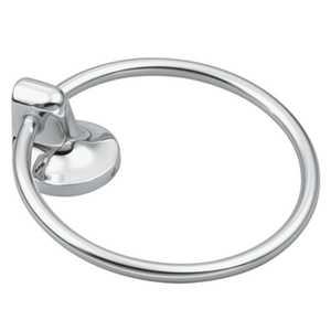 CSI/Moen 5886CH Towel Ring Chrome Aspen