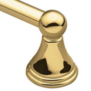 CSI/Moen DN8424PB Towel Bar 24 in Polished Brass Preston