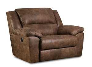 Simmons Upholstery 50111-BR Cuddler Recliner Chair Phoenix Mocha