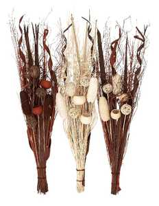 Uma Enterprises Inc. 18056 Dried Floral Bunch 40 in 3 Assorted