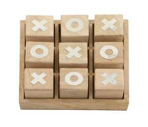 Uma Enterprises Inc. 19102 Wooden Tic Tac Toe Box