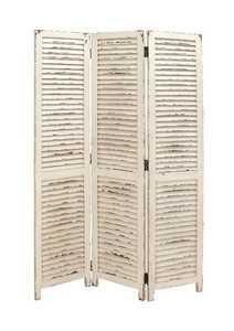 Uma Enterprises Inc. 20444 Three Panel Wood Screen 48X71
