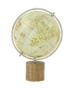 Uma Enterprises Inc. 24987 Wood and PVC Globe