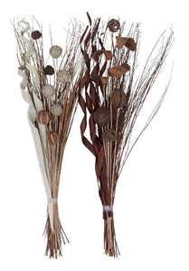 Uma Enterprises Inc. 37438 Dried Floral Bouquet, 2 Assorted, 46 in
