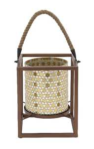Uma Enterprises Inc. 45634 Metal Mosaic Lantern 8X10