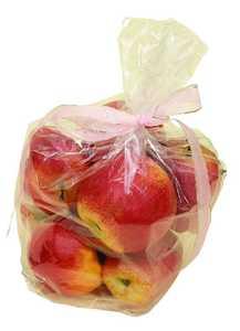 Uma Enterprises Inc. 47708 Foam Apples Gift Bag 12X7 Set of 8