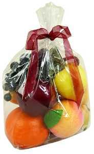 Uma Enterprises Inc. 47715 Foam Fruits Gift Bag 12X7 Set of 8