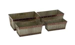 Uma Enterprises Inc. 48505 Metal Planter 15 in Medium