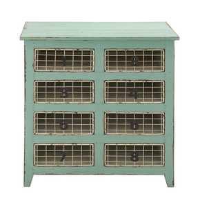 Uma Enterprises Inc. 55570 Wood Dresser with Metal Baskets 32X34