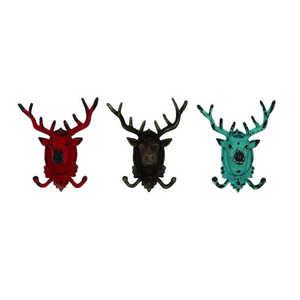 Uma Enterprises Inc. 55485 Metal Deer Hooks 3 Assorted 9x10