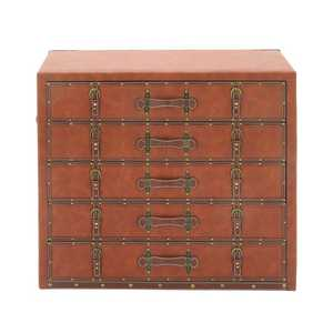 Uma Enterprises Inc. 55774 5-Tier Trunk-Style Cabinet 36x32