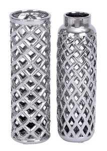 Uma Enterprises Inc. 69678 Ceramic Vase 2 Assorted 13X4