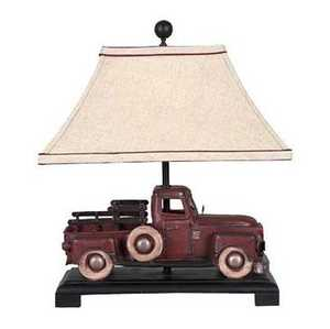 Vintage Verandah CL2384 Lamp Table Route 6 Truck