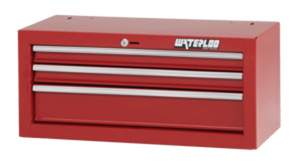 Waterloo Industries SIN-263RD-F 26-Inch 3-Drawer Red Tool Chest