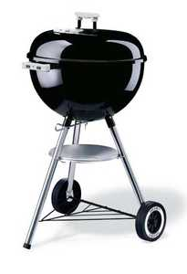 Weber Grill 441001 18-Inch Original Kettle Charcoal Grill