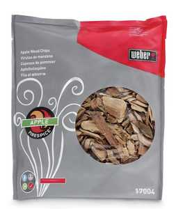 Weber Grill 17004 FireSpice Apple Wood Chips 3-Lb Bag