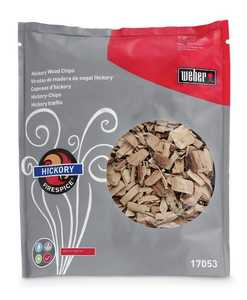 Weber Grill 17053 FireSpice Hickory Wood Chips 3-Lb Bag