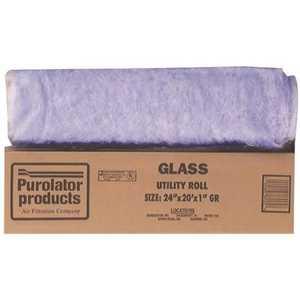Protect Plus Air G24201 24 x 240 x 1-Inch True Blue Hammock Fiberglass Air Filter