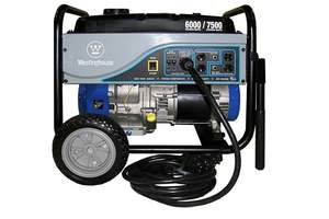 Westpro Power Systems WH6000S 6000-Watt Rated Gasoline Powered Generator With 25-Foot Cord