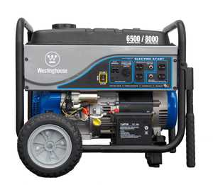 Westpro Power Systems WH6500E 6500-Watt Rated Generator With Electric Start