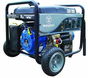 Westpro Power Systems WH7500E 7500-Watt Rated Electric Start Generator