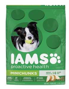 IAMS IAMS61090 Proactive Health Minichunks Adult Dog Food