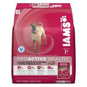 IAMS IAMS70074 Adult Lamb Meal And Rice Dog Food, 34.5lb