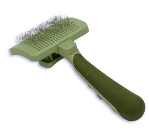 Coastal Pet Products CPW417 Dog Self-Cleaning Slicker Brush, Medium