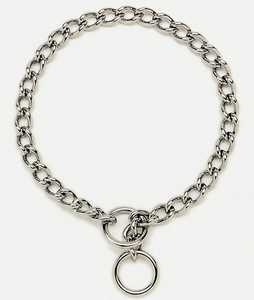 Coastal Pet Products CP5540G4026 Chain Training Dog Collar, Extra Heavy 4.0mm X 26 in