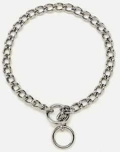 Coastal Pet Products CP5540G4028 Chain Training Dog Collar, Extra Heavy 4.00mm X 28 in
