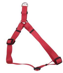 Coastal Pet Products CP6345RED1218 12 in -18 in Adjustable Nylon Dog Harness, Red