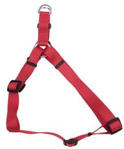 Coastal Pet Products CP6645RED2030 20 in -30 in Adjustable Nylon Dog Harness, Red