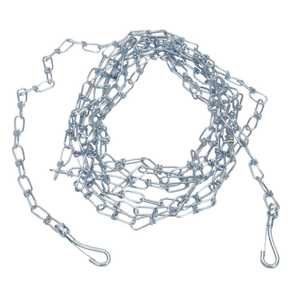 Coastal Pet Products CP89020 Twisted Link Chain Dog Tie Out, 2.0mm X 10 ft
