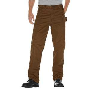 Dickies DU336RTB 36x32 Relaxed Fit Sanded Duck Carpenter Jean