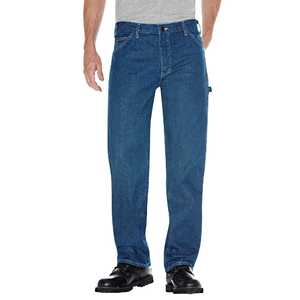 Dickies 1993SNB 32-inch x 34-inch Relaxed Fit Carpenter Denim Jean