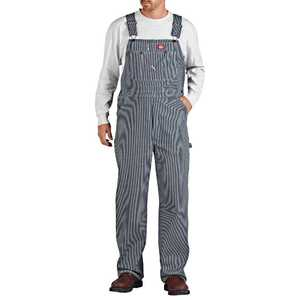 Dickies 83-297HS Hickory Stripe Bib Overall 36x32